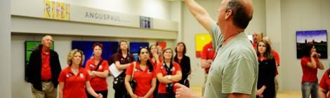 Leadership Brazos Visits SEAD Gallery