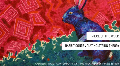 Rabbit Contemplating String Theory