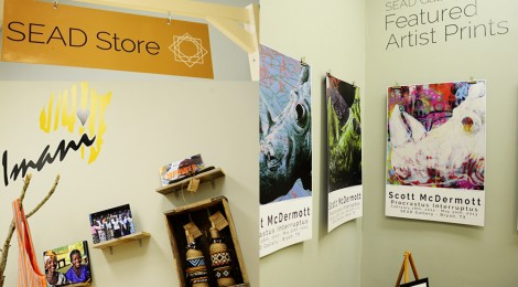 SEAD Store opens in the Gallery