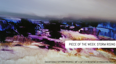 "Piece of the Week: ""Storm Rising"""