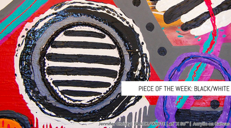 Piece of the Week: Black/White