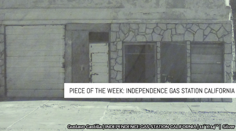 Piece of the Week: Independence Gas Station California