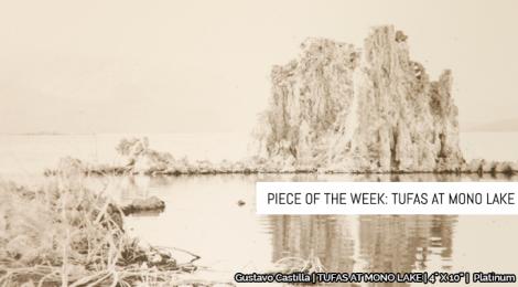 Piece of the Week: Tufas at Mono Lake