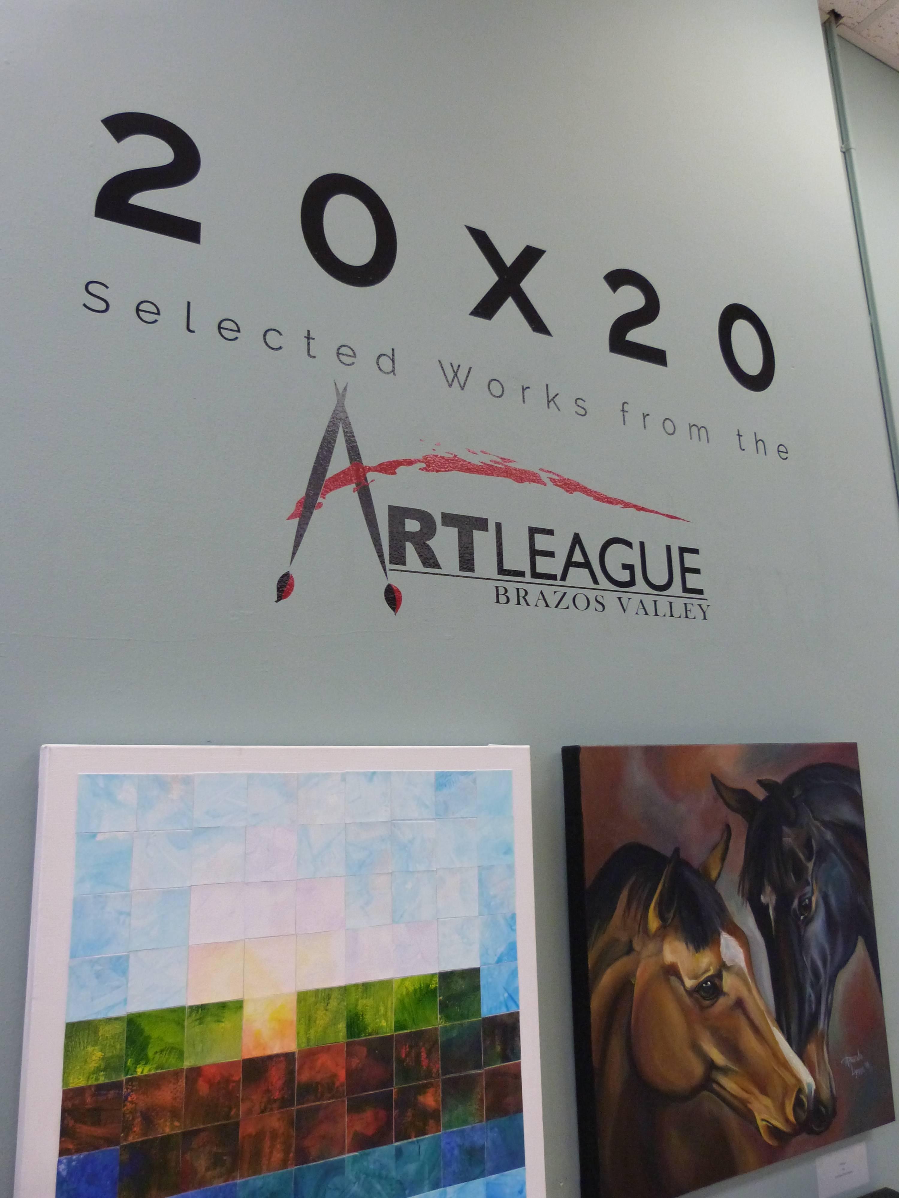Brazos Valley Art League presents: 20×20