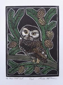 Mirka Hokkanen Northern Saw_When Owl