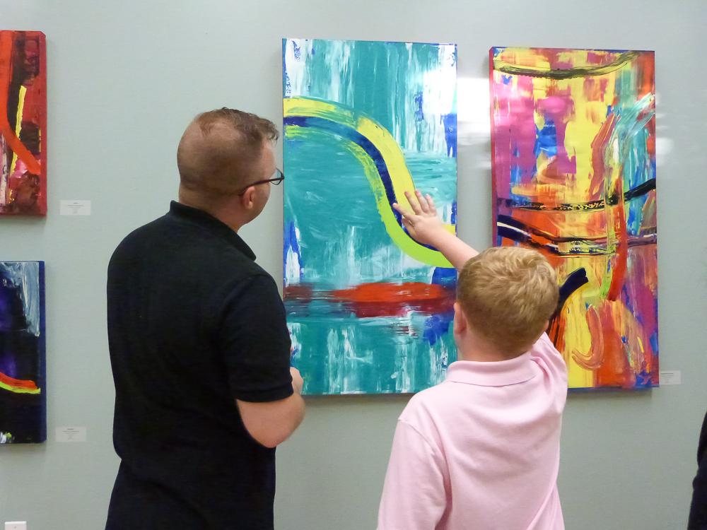 Abstract Expressionist Texas Reception Recap