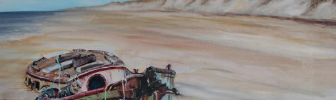 """Piece of the Week: """"Beached"""" by Kristine Kainer"""