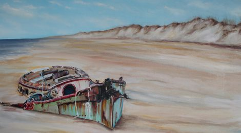 "Piece of the Week: ""Beached"" by Kristine Kainer"