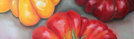 "Piece of the Week: ""Heirloom Tomatoes"" by Kristine Kainer"