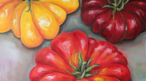 "Piece of the Week: ""Heirloom Tomatoes"" by Kristine Kainer"