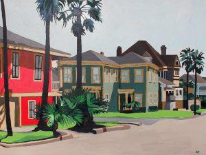 """East End 18"""" X 24"""" acrylic on canvas $255"""