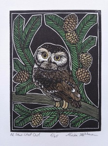 Mirka Hokkanen Northern Saw_When Owl